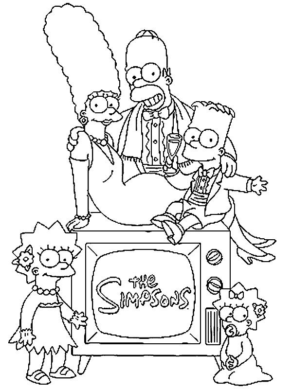 familia-simpsons