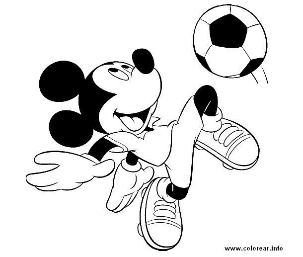 mickey y balon