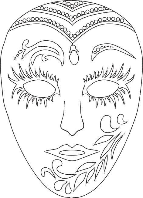 Mascaras de carnaval para colorear con tus propias manos - Pirata colorazione pirata stampabili ...