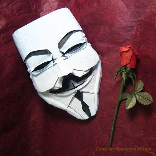 Como hacer con tus propias manos una mascara de papel - Como hacer una mascara ...