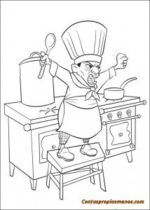 Dibujos disney para colorear- Ratatouille