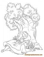 Dibujos Disney para colorear- Alicia en el País de las Maravillas
