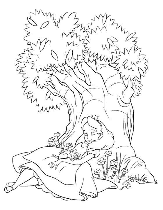 Dibujos Disney para colorear- Alicia en el País de las Maravillas ...