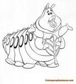 Dibujos disney para colorear- Bichos