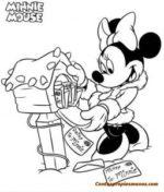 Dibujos Disney para colorear- Mickey Mouse