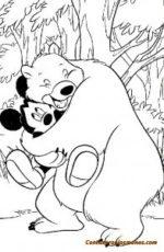 Dibujos Disney para colorear-Mickey Mouse