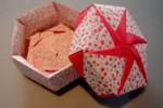 Cajas de papel decorativas