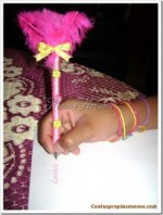 Como hacer con tus propias manos un lapicero decorado