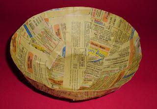 Como hacer con tus propias manos un tazón decorativo