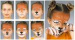 Maquillaje festivo para carnaval