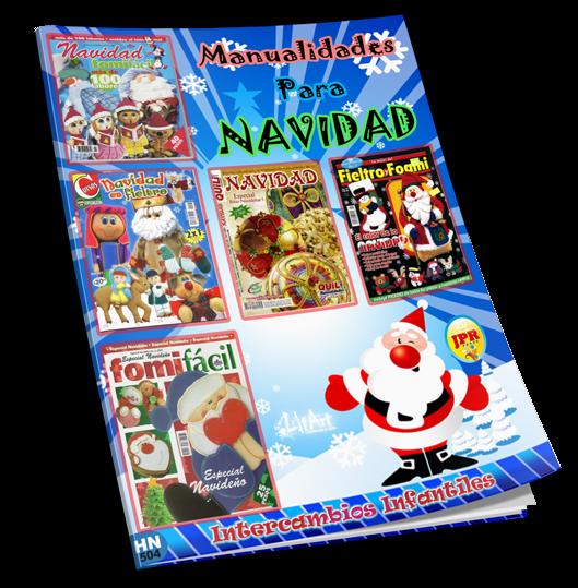 70d60cac72b Manualidades para Navidad - Set de revistas