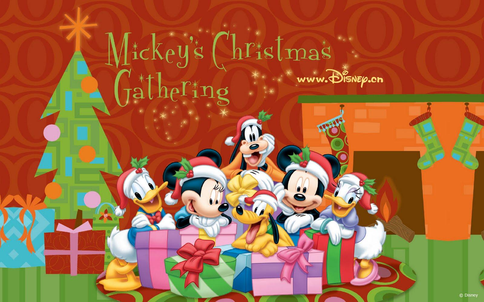 Dibujos de Disney de Navidad y Fin de Año