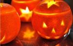 Hacer naranjas de Halloween