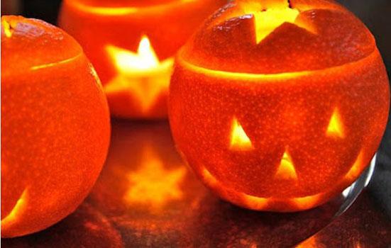 Mini-calabazas-de-naranja-para-halloween