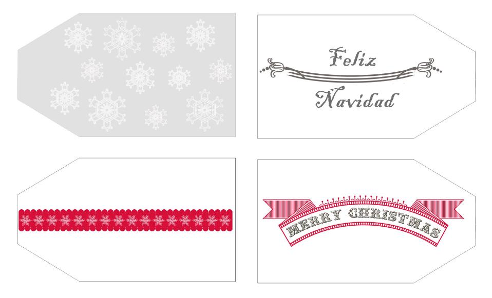etiquetas navidad 2
