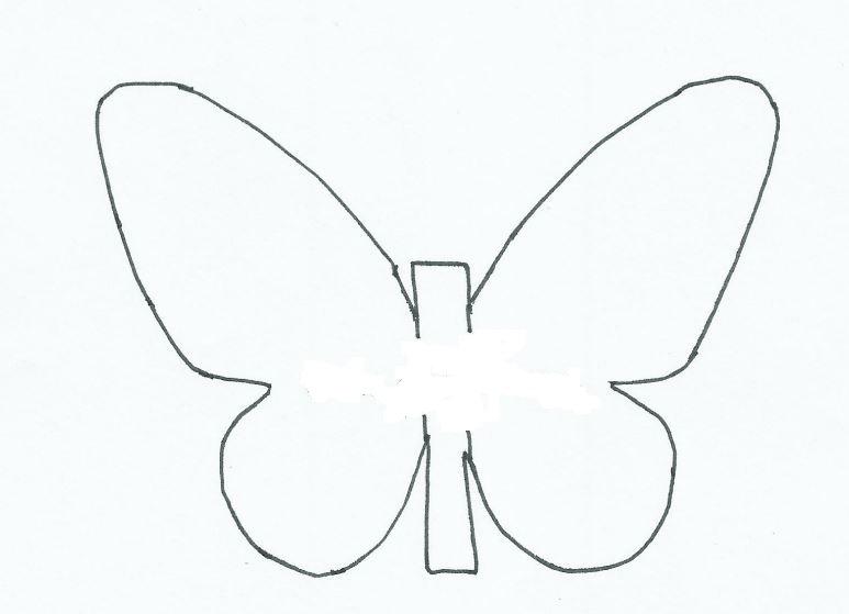 Mariposas de papel para decorar las paredes con tus - Como hacer mariposas de papel para decorar paredes ...