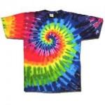 Camiseta hippies con tintes