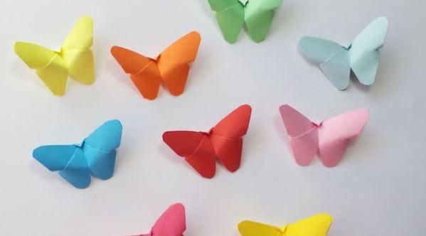 mariposas origami