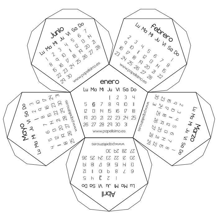Calendario 3D – Contuspropiasmanos.com