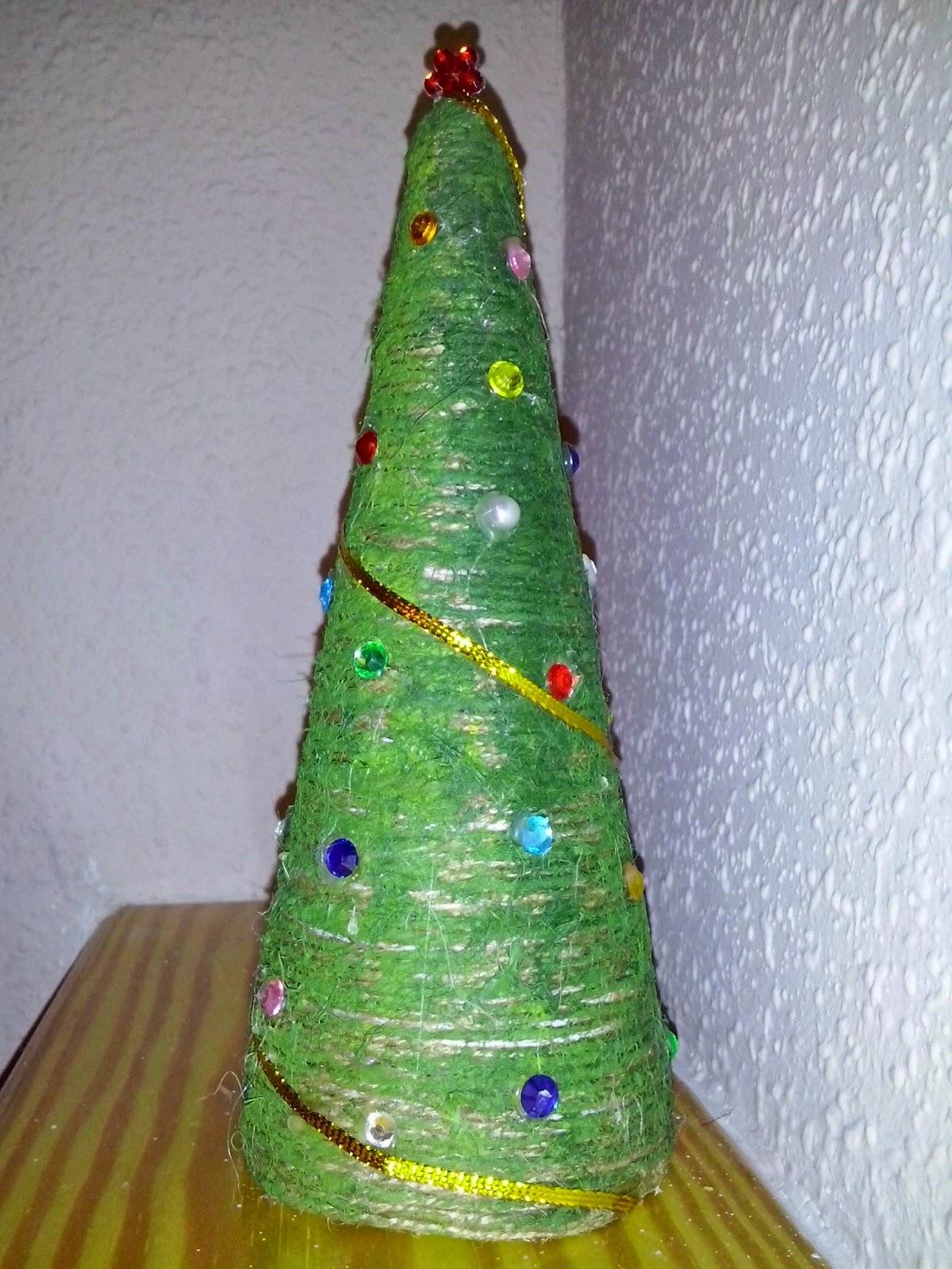 arbol de navidad cuerda