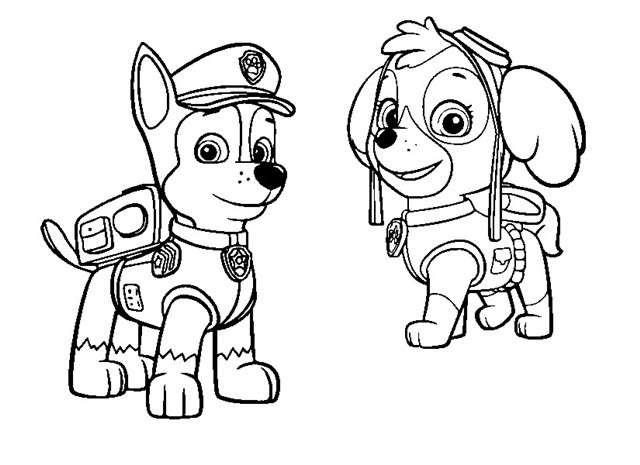 colorear-dibujos-de-la-patrulla-canina