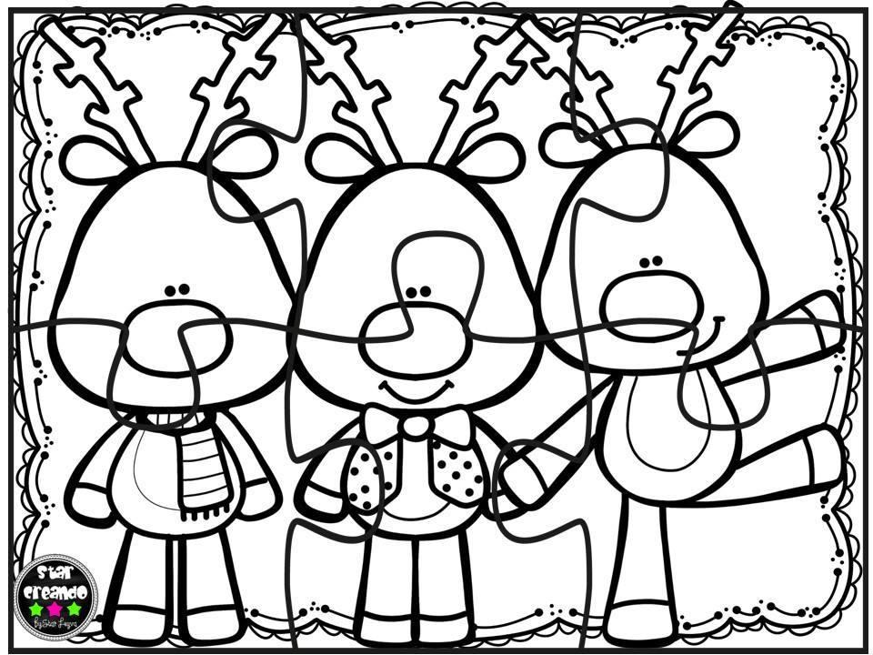 Puzzles infantiles para colorear - Dibujos para colorear ...