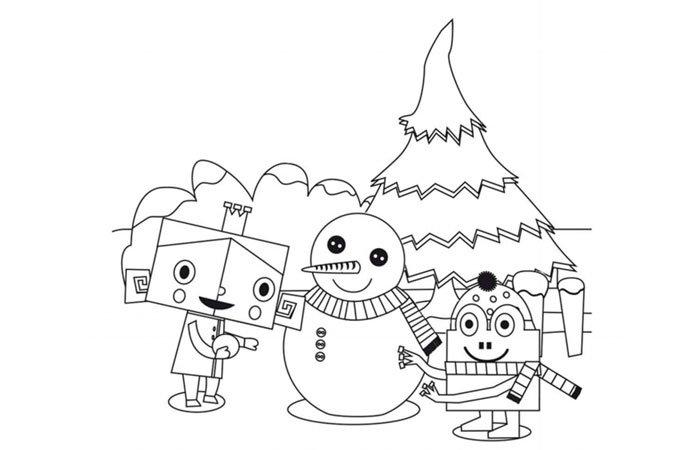 Dibujos para tarjetas de navidad