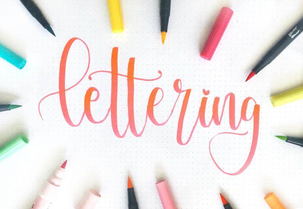 Como usar rotuladores de lettering